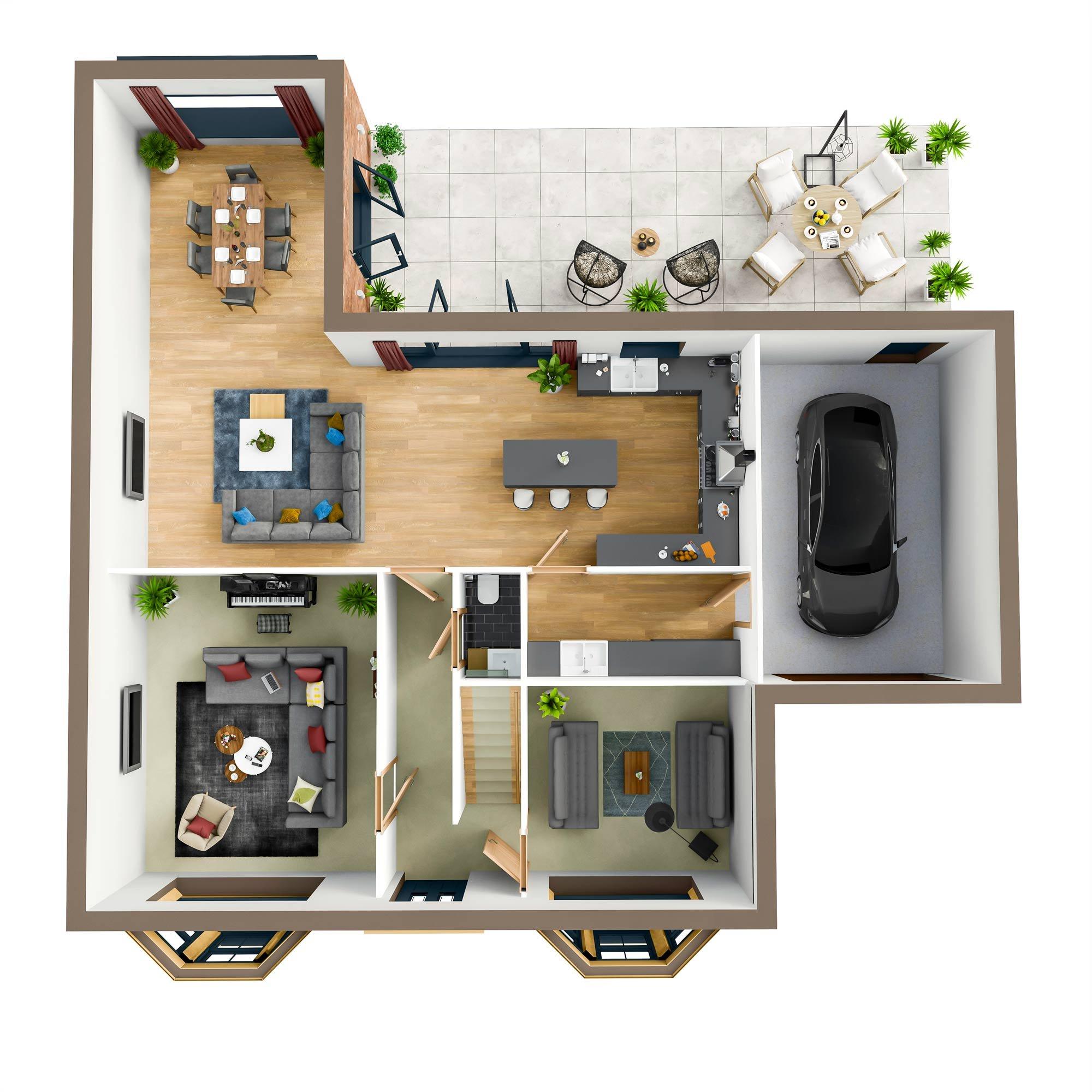 Croft Villa House