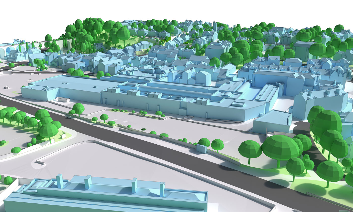View 1 – Existing and Proposed